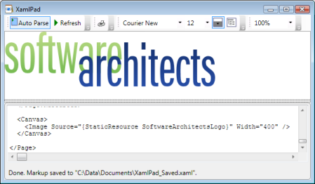 Logo In XAML Pad