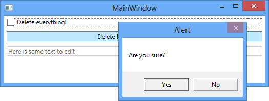 WPF CheckBox With Confirmation Message
