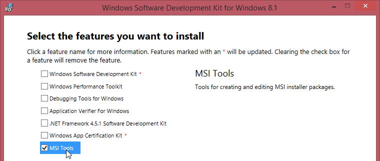 Windows Installer XML Training